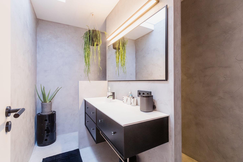 Puristisch designten Badezimmer, die Raffinessen dieses Interior Designs stecken in kleinen Details, die den Besitzern jeden Tag Freude bereiten.