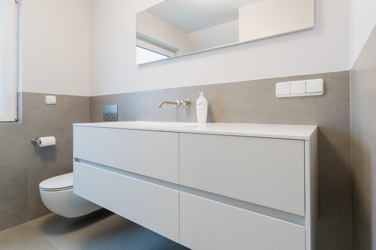 Bad nach Sanierung durch Malchow Interior Design